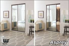 Closet With Mirror Doors Sliding Closet Doors With Glass Or Mirror The Glass Door Store
