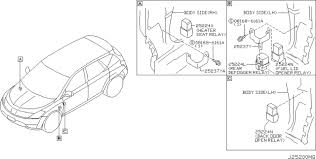 nissan murano oem parts usa estore relay wiring diagram components