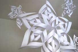 How To Make A Snowflakes Out Of Paper - ways snowflakes dma homes 22395