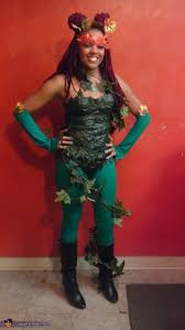 Poison Ivy Costumes Halloween Creative Homemade Poison Ivy Costume