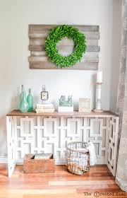 Diy Console Table Plans by Fretwork Console Table
