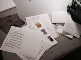 Resume Packet Artist Cv Paper Opera