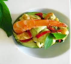 sauge en cuisine avocats aux crevettes et sauge ananas la recette facile par toqués