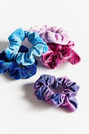 hair scrunchie velvet hair scrunchie set outfitters