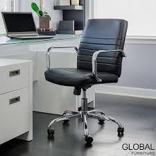 global furniture bonded leather sofa global furniture bonded leather task chair in black costco uk