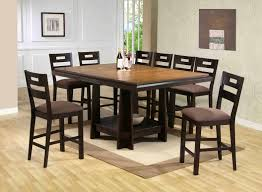 Dinette4less by Kitchen Elegant Brown Wooden Dining Table Design Kitchen Tables