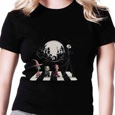 Womens Halloween T Shirts by Lock Shock And Barrel Nightmare Before From Shoptshirt Net