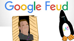 google feud tom hanks in my closet penguins are funny