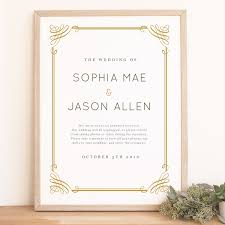 Wedding Poster Template Instant Download Wedding Welcome Sign Template Classic Frame