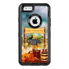 thanksgiving scarecrow otterbox defender iphone zazzle