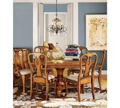 Flowers For Dining Room Table by Solid Hardwood Frame With Corner Blocking Pottery Barn Dining Room