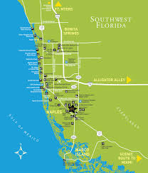 Bonita Springs Florida Map by About The Area Stock Realty