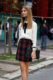 White Blouse With Black Bow How To Wear A Bow Tie U2013 Hottest Street Style Looks 2017 Become Chic