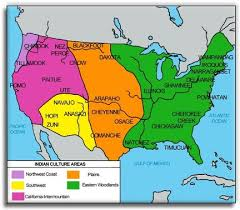 4 american cultures map americans mrs heffington s 4th grade
