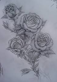 image result for three roses tattoos