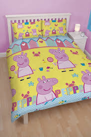 character world peppa pig seaside double rotary duvet set multi