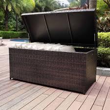 outdoor wicker storage cabinet outdoor wicker storage cabinet beautiful crosley furniture palm