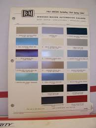 1965 lincoln continental paint chips color chart r m 65 picclick