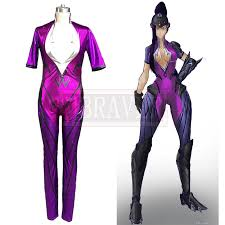 Catsuit Halloween Costumes Ow Game Amelie Lacroix Widowmaker Cosplay Costume Video Game