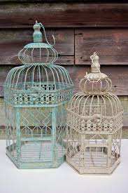 rustic wedding decorations for sale sale shabby chic rustic wedding decor 14 vintage birdcage wedding
