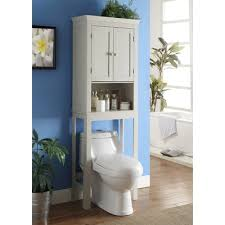 Bathroom Over Toilet Storage Over The Toilet Storage Cabinets Bathroom Etagere Wayfair Ca