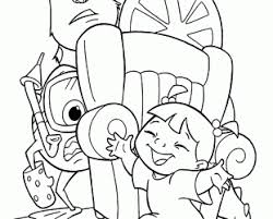 printable monster university coloring pages printable monster