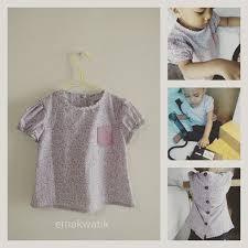 dress anak jahit blus shirt anak perempuan menjahit baju anak