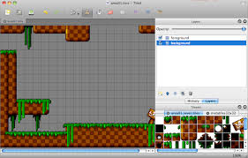 platform game with level editor exle level made with tiled level editor bouncy game inspiration