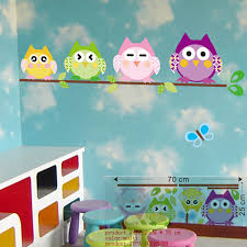 Owl Pictures For Kids Room by Cartoon Wall Stickers Wise Owl Tree Kids Room Decorations Free