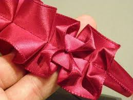 pleated ribbon how to make a lovely pleated ribbon trim fabric manipulation