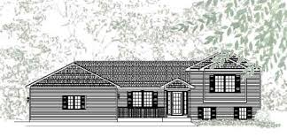 elegant traditional style tri level house plan giverny park
