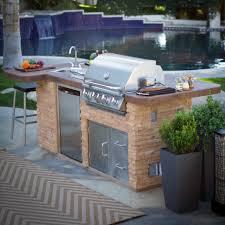 prefab outdoor kitchens stone kitchen kits cheaply build also