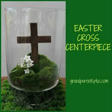 easter religious decorations easter cross centerpiece grandparentsplus