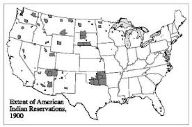 map usa indian reservations indian reservations u s history in context