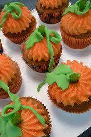 thanksgiving cupcake designs pure delights baking co pumpkin cupcakes