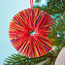 make a tree decoration lights card and decore