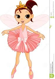 cute fairy ballerina royalty free stock image image 17008216