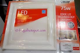 Costco Led Light Fixture Costco Sale Feit Electric Led Flush Mount Light Fixture 23 99