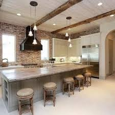 kitchen brick backsplash best 25 whitewash brick backsplash ideas on