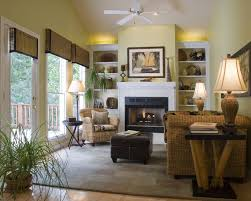 outstanding coastal home decor ideas beach blue stained wall beige