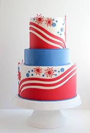 patriotic wedding cake u2013 red white and blue a wedding cake blog