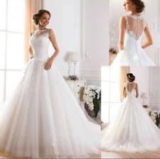 tulle wedding dresses ebay