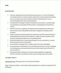 Agile Resume Business Analyst Resume Sample And Tips