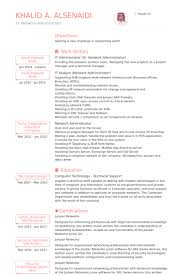 Technical Skills Resume Examples by It Administrator Resume Samples Visualcv Resume Samples Database