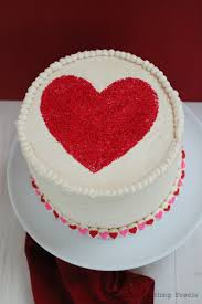 day red and pink velvet cake