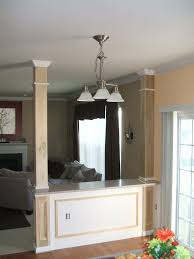 interior columns for homes wrapping interior columns finish carpentry contractor