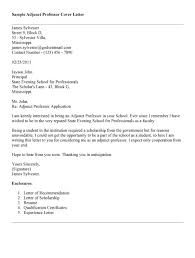 cover letter for adjunct faculty the letter sle