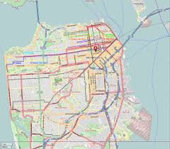 Zip Code Map San Francisco by San Francisco Streetcar Map Michigan Map