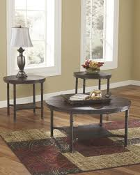 buy ashley furniture t277 13 sandling 3 piece coffee table set