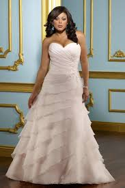 pink plus size wedding dresses plus size wedding dress in color sweetheart tiered handmade
